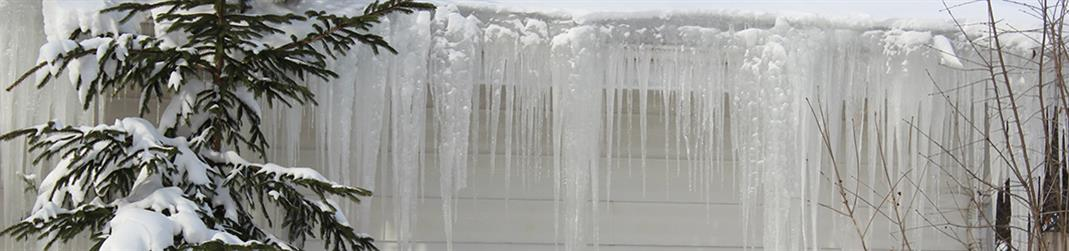 Image of icicles.
